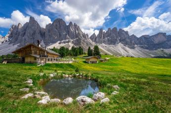 обоя города, - пейзажи, горы