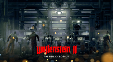 обоя wolfenstein ii,  the new colossus, видео игры, the, new, colossus, action, шутер, wolfenstein, ii