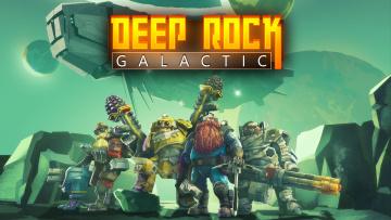 обоя deep rock galactic, видео игры, action, шутер, deep, rock, galactic