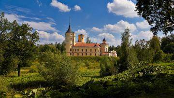 обоя города, санкт-петербург,  петергоф , россия, castle, mariental, saint-petersburg, pavlovsk, park