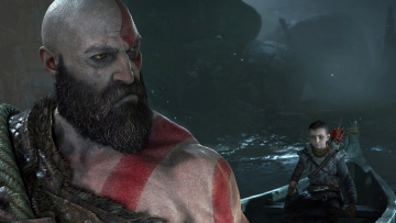 обоя видео игры, god of war , 2017, action, ролевая, god, of, war