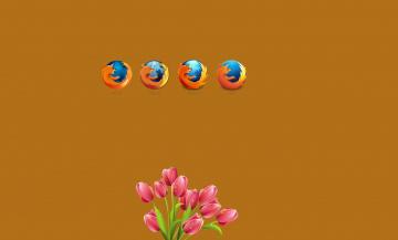 Картинка компьютеры mozilla+firefox логотип фон