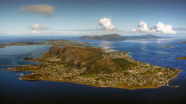 Обои картинки фото города, - панорамы, побережье