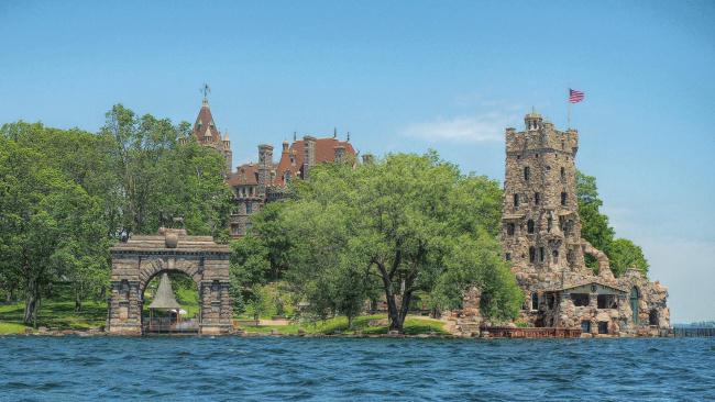 Обои картинки фото города, - дворцы,  замки,  крепости, александрийский, залив, замок, болдт, канада, озеро, онтарио