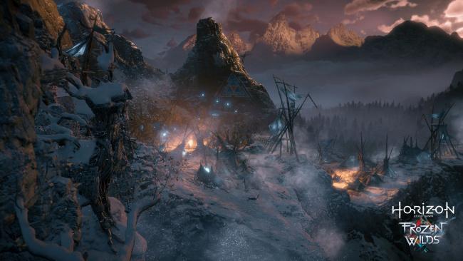 Обои картинки фото horizon zero dawn,  the frozen wilds, видео игры, horizon, zero, dawn, the, frozen, wilds, action, шутер