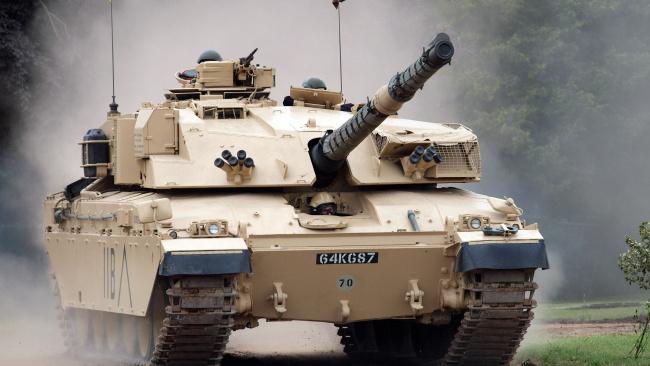 Обои картинки фото танки, техника, военная техника, challenger, 2, боевой, танк, основной, англия