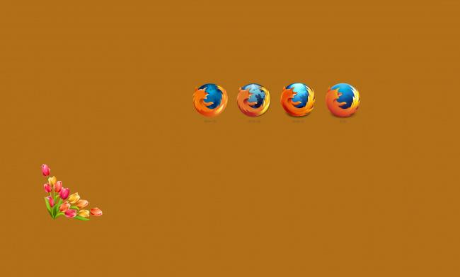 Обои картинки фото компьютеры, mozilla firefox, логотип, фон
