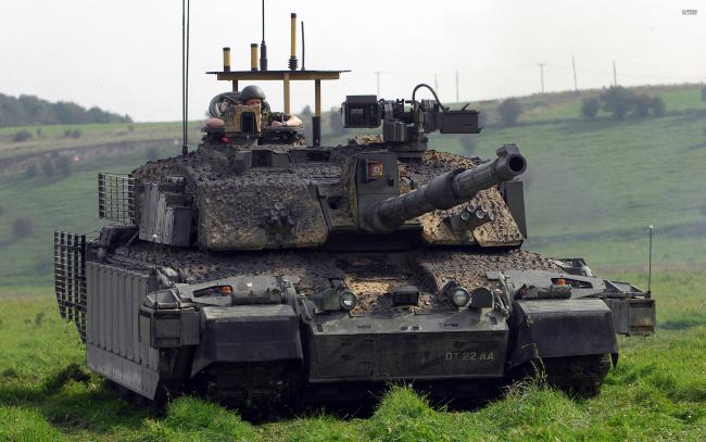 Обои картинки фото танки, техника, военная техника, основной, англия, challenger, 2, боевой, танк