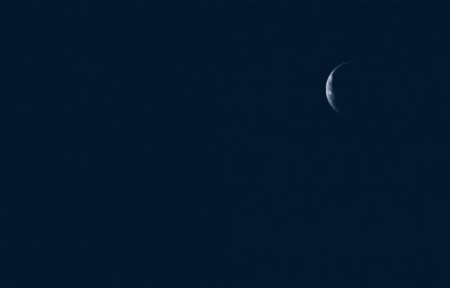Обои картинки фото космос, луна, небо, ночь