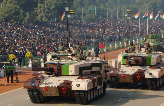 Обои картинки фото танки, техника, военная техника, индия, arjun, mk, ii, боевой, танк, основной