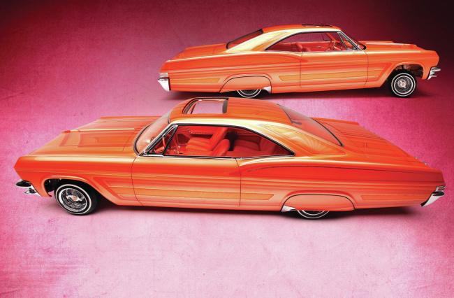 Обои картинки фото 1965-chevrolet-impala-ss, автомобили, chevrolet