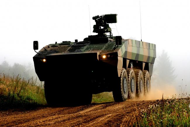 Обои картинки фото patria amv, техника, военная техника, patria, amv, бронетранспортер, финский