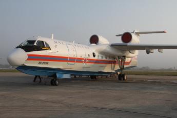 обоя бе- 200 Чс, авиация, самолёты амфибии, самолёт, бе-, 200, Чс