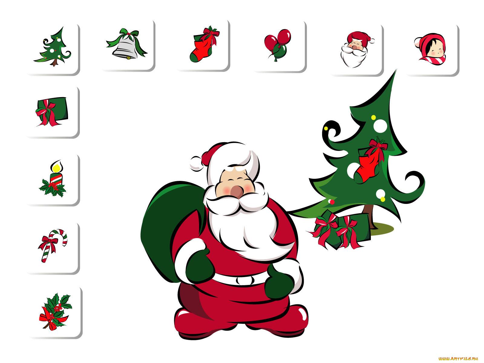 Нарисовать поздравительную открытку к новому году добавить элементы анимации, анимация