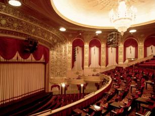 обоя интерьер, театральные, концертные, кинозалы