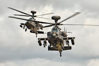обоя apaches, авиация, вертолёты, вертушка