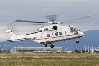 обоя augusta-westland eh-101vip merlin, авиация, вертолёты, вертушка