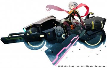 обоя аниме, оружие,  техника,  технологии, cosmic, break