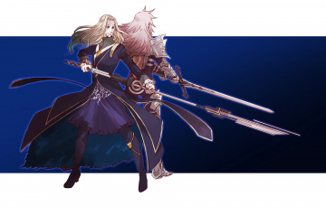 обоя аниме, fate, stay night, судьба, апокриф