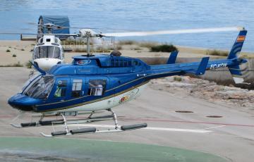 обоя bell 206l-3 longranger iii, авиация, вертолёты, вертушка