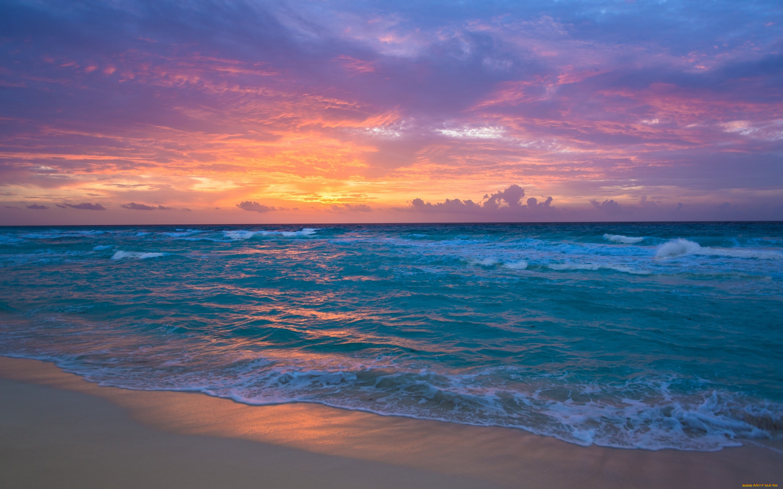 берег закат море без смс