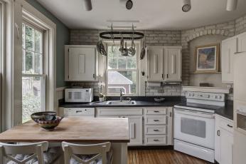 обоя интерьер, кухня, мебель, стиль, дизайн