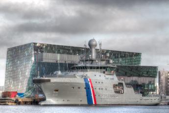 обоя icelandic coast guard ship, корабли, крейсеры,  линкоры,  эсминцы, вмф