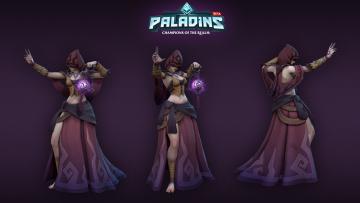 Картинка видео+игры paladins
