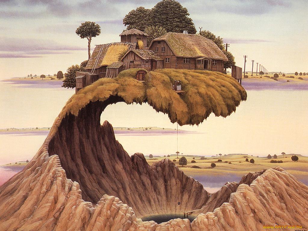 Картинка удивительного мира который создан на земле благодаря разуму человека