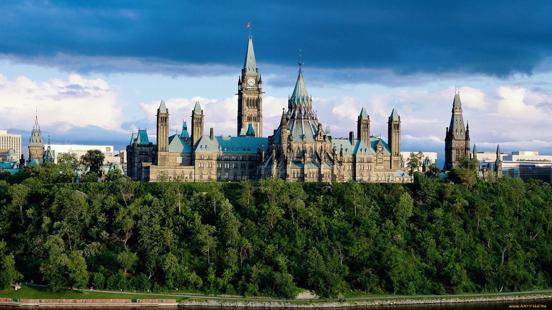 Парламентский холм река Оттава загрузить