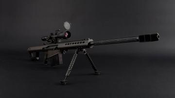 обоя оружие, снайперская винтовка, сша, крупнокалиберная, снайперская, винтовка, m107, light, fifty, barrett, firearms, company, самозарядная