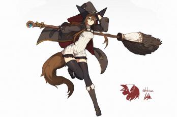 обоя аниме, магия,  колдовство,  halloween, lansane