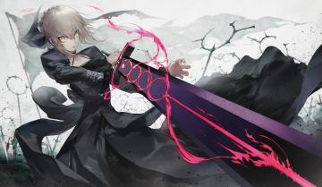 обоя аниме, fate, stay night, grand, order
