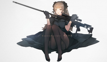 обоя аниме, оружие,  техника,  технологии, lisa