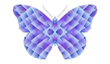Картинка векторная+графика животные+ animals фон бабочка