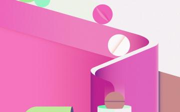 обоя векторная графика, графика , graphics, цвета, фон, узор