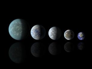 обоя космос, арт, планеты, галактика, вселенная, звезды