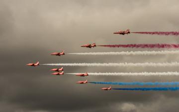 обоя авиация, боевые самолёты, полет, самолеты