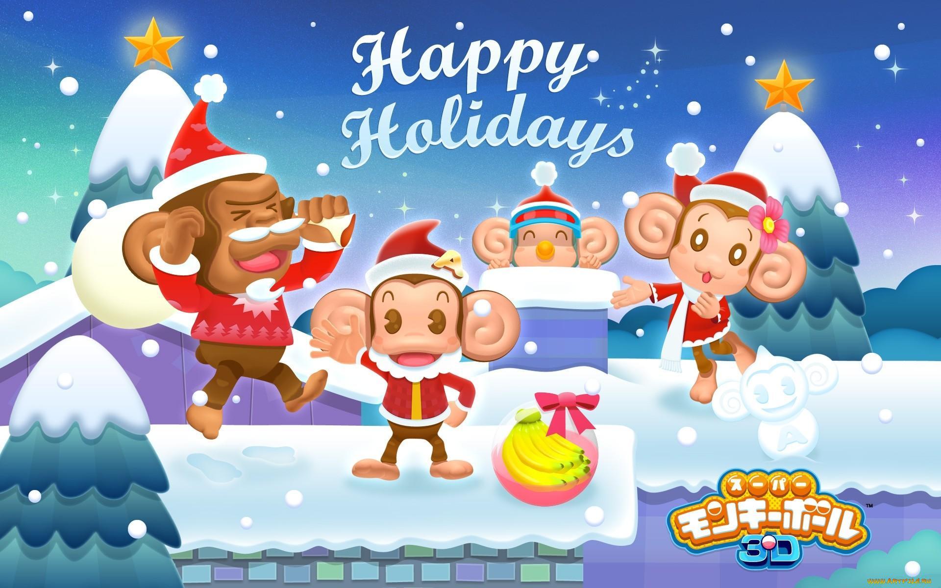Прикольная обезьяна картинки к новому году, смешные день