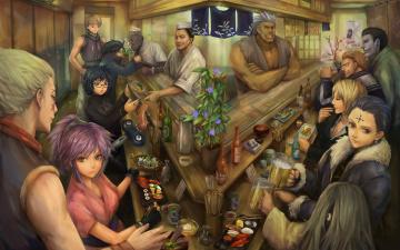 Картинка аниме hunter+x+hunter хисока бар персонажи