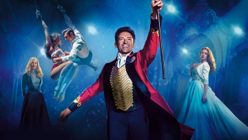 обоя кино фильмы, the greatest showman, hugh, jackman, rebecca, ferguson