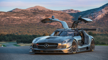 обоя mercedes-benz sls amg gt3-45th anniversary 2013, автомобили, mercedes-benz, 2013, sls, amg, anniversary, gt3-45th
