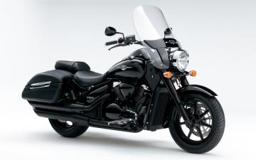 Картинка мотоциклы suzuki intruder c1500t 2013 темный