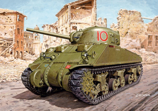 Картинка рисованное армия танк