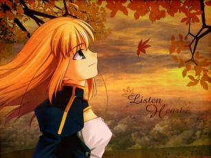 Картинка аниме fate stay night