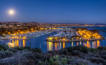 Картинка harbor dana point california сша корабли порты причалы