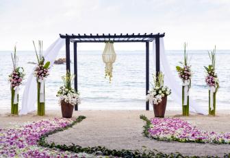 обоя интерьер, декор,  отделка,  сервировка, свадьба, букеты, море, пляж