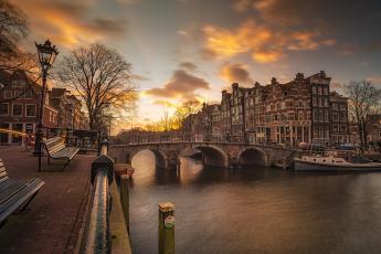 обоя amsterdam, города, амстердам , нидерланды, столица