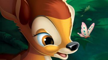 обоя мультфильмы, bambi