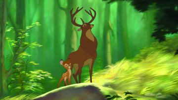 обоя мультфильмы, bambi 2, bambi, 2